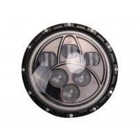 50W Jeep LED Headlights Black 7 Inch Round Off Road LED Headlights Manufactures