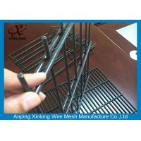 China Security 868 Welded Double Wire Fence / Anti Climb Welded Wire Mesh Fence on sale