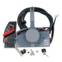 China Boat Outboard Remote Control Box for Yamaha 10Pin Cable Right Hand PUSH Throttle on sale