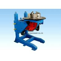 Height Adjusting Automated Pipe Welding Positioners Turntable 3kw For Vessel Loading Manufactures
