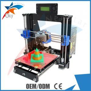 China Laser Cut Acrylic Frame 3d Printer Kits Dual Extruder I3 Pro C Multicolor on sale
