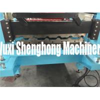 China Simple Self-locked Roof Series Roofing Tile Forming Machine / Improved Bender on sale