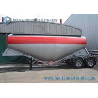 2 Axis V Shape 30m3 Cement Powder Trailer Container Semi Trailer Manufactures