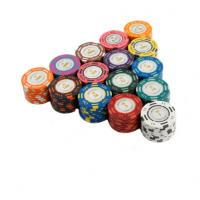 China 20PCS / Lot Poker Chips 14g Clay Coin Baccarat Texas Hold'em Poker Set on sale