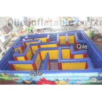 QiLe Funny Inflatable Sports Games Laser Tag Air Inflatable Maze Durable Manufactures