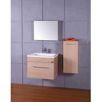China European Style MDF Bathroom Cabinet with Resin Basin (607) on sale