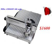 CNC 6040CH80 4 axis engraving machine with 1.5KW spindle for engraving metal,woods,6040 C Manufactures