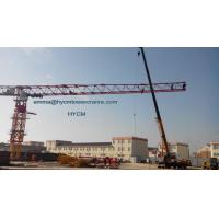 Topless Flat Tower Crane 20t PT8030 80M Large Working Jib 5m Mast Manufactures