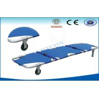 China Portable Folding Ambulance Foldaway Stretcher Trolley For Home on sale