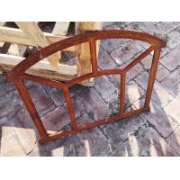 Industrial Style Cast Iron Windows Frame For Usw Mirror Wall Art H48xW62.5CM