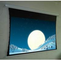 Electric high gain tab tension projection screen for sale for Tab tensioned motorized projection screen