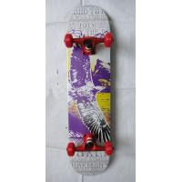 Kids Wood Mini Canadian Maple Skateboard / Chinese Map Manufactures