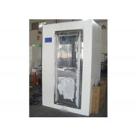 2 Person Electronic Cleanroom Three Side Blowing Dust Air Shower Channel Manufactures