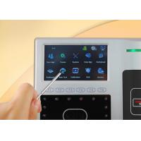 Multi Language Facial Recognition Time Attendance System Support ID Card Reader Manufactures