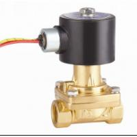"""2 Way Electric Solenoid Valve 1/4"""" , NC Water Steam Solenoid Valve 1/4"""" RSPS for sale"""