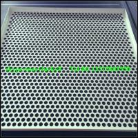 China folded perforated metal ceilings on sale