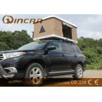 China Hard Shell Fiberglass Car Roof Top Tent / Jeep Roof Rack Tent With Fiber Glass Shell on sale