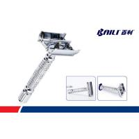 Long Handle Butterfly Open Double Edge Safety Razor Baili Blades Manufactures