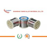 China 0.01-0.05mm 80 Nickel Chromium Wire Ni80Cr20 Resistance Wire For Electric Furnaces on sale