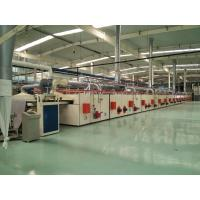 PVC Carpet Backing Machine / Tile Production Line CNC Cutting For Sizes Desired Manufactures