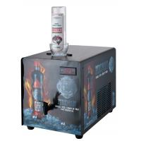 China Metal Case Single Bottle Shot Chiller Fast Cooling With Decorative Sticker on sale