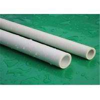 Intensive Plumbing Ppr Pipe For Hot Water Custom Color High Temperature Resistance Manufactures