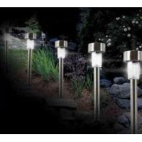 China stainless steel solar lawn lamp on sale