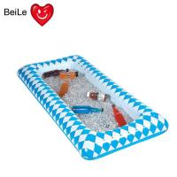 90cmL blue Lattice inflatable ice table with PVC material Manufactures