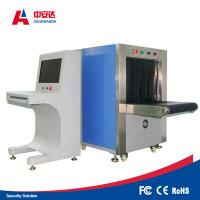 Quality Double Vision Angles X Ray Baggage Scanner , Bag Scanning Machine With for sale