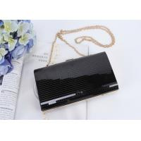 Quality Fit & Wit black Evening Bag Rhinestone Clutch Evening Handbag Purse for Party for sale