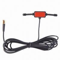 China T-type Digital TV Antenna with 470-862MHz, 3m/5m Length on sale