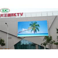 Quality Outdoor P6 Led Advertising Board , High Brightness Led Display 960x960mm Cabinet for sale