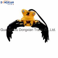 Grapple 360 Degree Rotation Hydraulic Grab Bucket for 15-40 Tons Excavator Manufactures