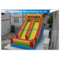 Classics Inflatable Water Slides For Big Kids , Moonwalk Water Slide For Sports Jumping Manufactures