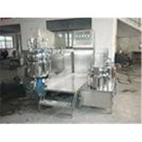 Cosmetic Making Machine 1000L Tilting Homogenizing Vacuum Emulsifying Mixer For Ointment Manufactures