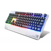 Wired USB 3 color LED Pro Illuminated Gaming Keyboard For Gamer 104 Keys Manufactures