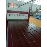 vacuum laminating machine from China for wooden door TM2480M Zhanhongtu manufacturer Manufactures