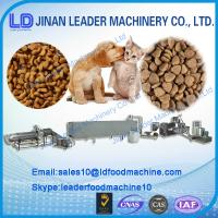 304 stainless steel dry dog/fish/cat pet food processing machine Manufactures