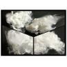 Buy cheap 1.2 Denier Regenerated Polyester Staple FiberSemidull Raw White For Spinning from wholesalers
