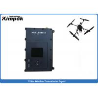 China 300-999Mhz Drone Video Transmitter Microwave Surveillance Wireless Video Transmission Equipment on sale