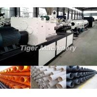 Buy cheap Pvc Pipe Extruding Line apply in agricultural water supply system,  pavement of cables from wholesalers