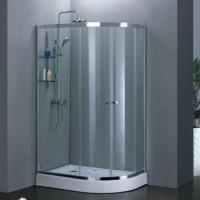 Offset quadrant double shower sliding door, 6/8mm tempered glass Manufactures