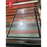 custom chemicall strengthened 3mm glass cover lens for outdoor display touch for sale