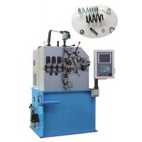 High Efficiency Compression Spring Coiling Machine 1600Kg Wire Diameter 1.2mm - 4.0mm Manufactures