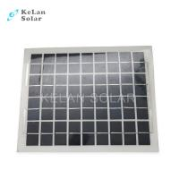 China Sun Power Crystalline Semi Flexible Solar Panel 10Wp Water Proof  For Boat / Car on sale