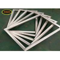 China Aluminum Windows Silk Screen Frame For Silk Screen Printing With Polyester / Nylon Mesh on sale