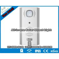 Hitechled 30W New Innovative Integrated Solar Street Light with drawer   HT-SWD-5030 Manufactures