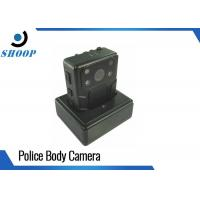 Audio Law Enforcement Body Worn Camera Night Vision Waterproof 2 IR Lights For Police Manufactures