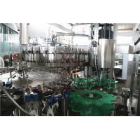 32 Head 10000BPH Beer Bottle Filling Machine , Glass Bottling Capping Machine Manufactures