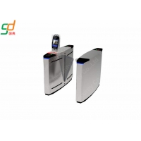 China Stainless Steel Automatic Turnstiles Flap Gate Barrier Wide Lane on sale